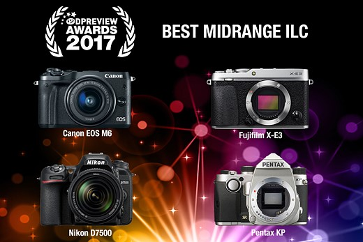 Our favorite gear, rewarded: DPReview Awards 2017 18