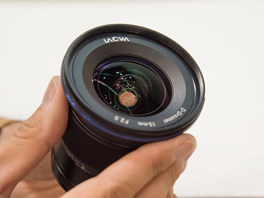 Photokina 2016: Hands-on with Laowa 15mm F2 FE and 7.5mm F2 MFT 2