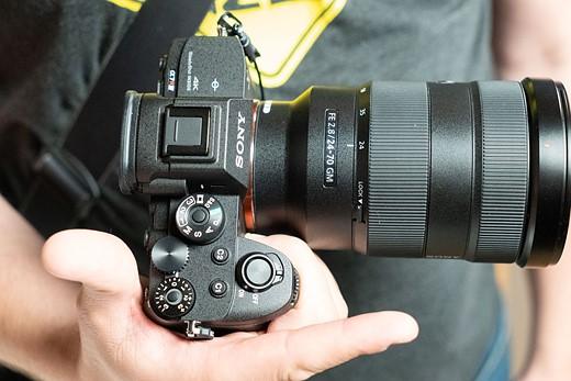 Sony a7r iv ergonomia