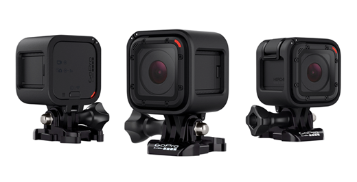 GoPro HERO4 Session waterproof cube-shaped camera ...