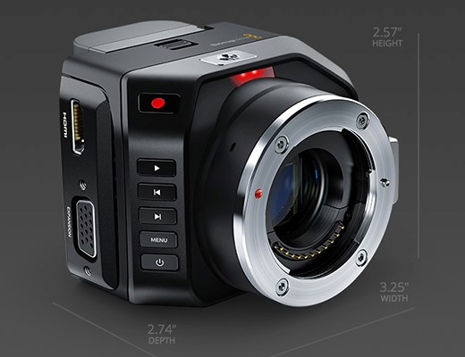 Meet The Blackmagic Micro Cinema Camera A Super 16 Action Camera With A Micro Four Thirds Mount Digital Photography Review