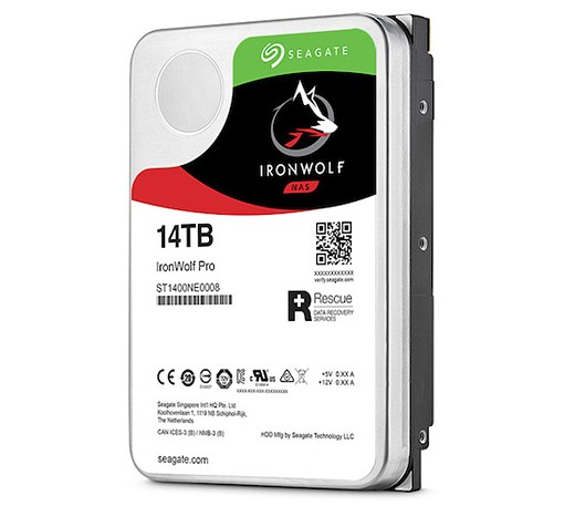 Seagate 14TB IronWolf and IronWolf Pro NAS HDDs are made for creative pros