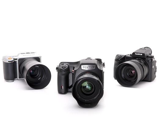 Fujifilm GFX 50S vs Pentax 645Z vs Hasselblad X1D 3