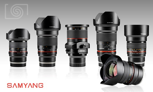 Samyang says five of its full frame lenses now available in Sony E mount