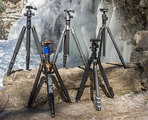 Travel tripods: 5 carbon fiber kits reviewed: Digital Photography Review