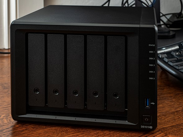 Hands on: Synology DS1019+ is a five-drive NAS storage