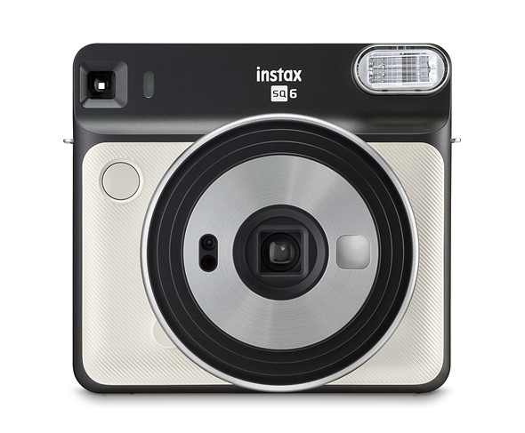 Fujifilm's Instax Square SQ6 is a square-format analog instant camera