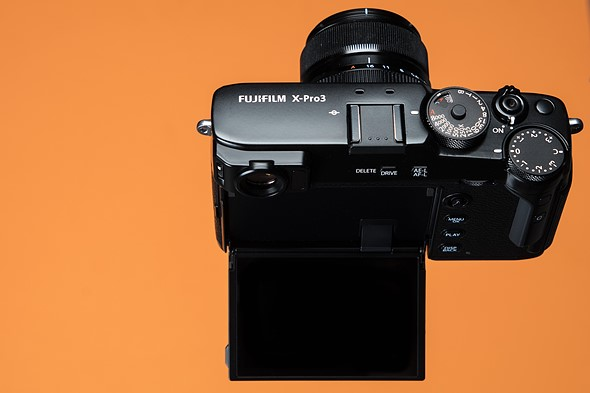 Display duality: The Fujifilm X-Pro3 in California wine country