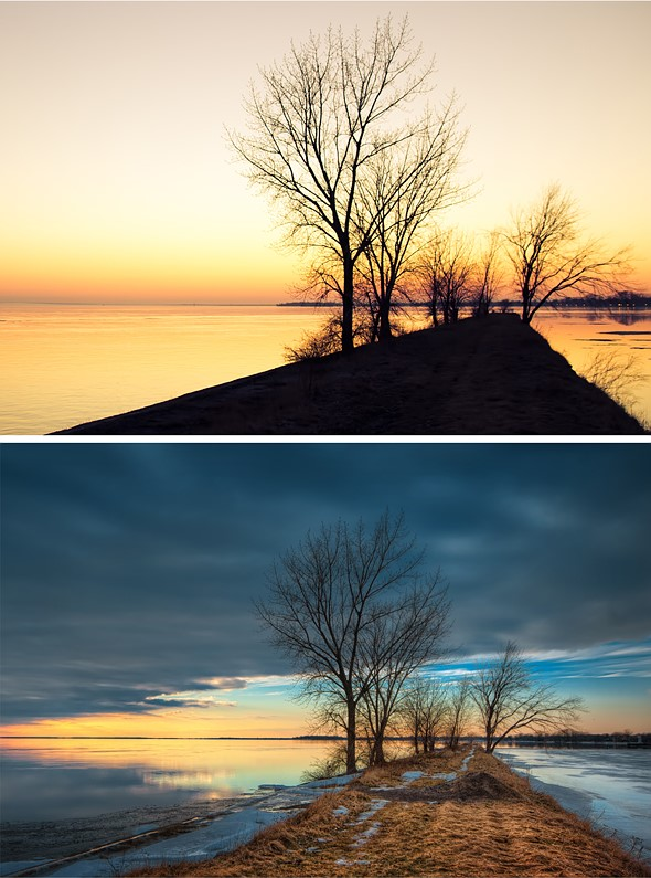 Capturing the same sunset, 2 years apart 1