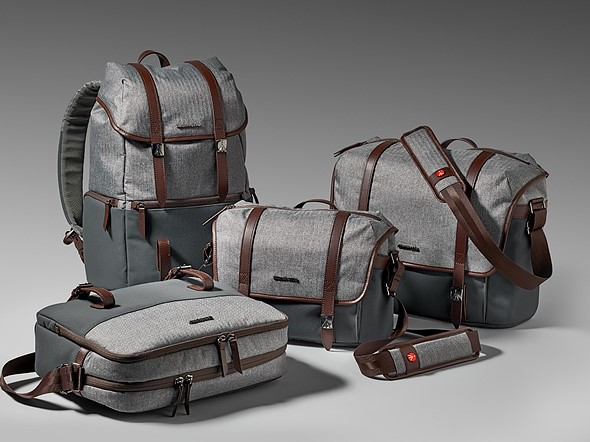 e3fdf04d8b61 Manfrotto launches stylish Windsor Collection bags  Digital ...