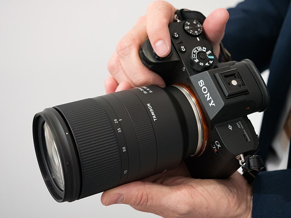 firmware tamron update sony 28-75mm cameras