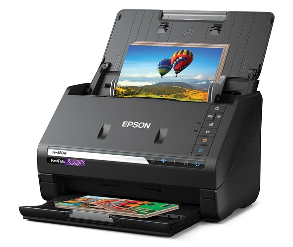 Epson FastFoto FF-680W, world's fastest personal photo scanner, now available