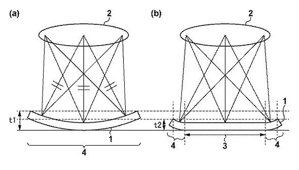 canon patent shows curved sensor design  digital