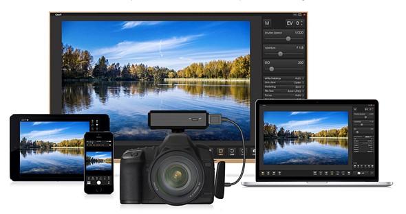 CamFi wireless camera controller now supports Sony digital cameras