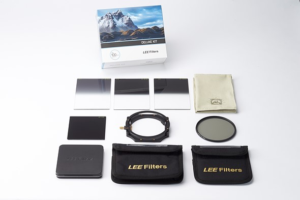 Lee bundles 100mm holder with popular filters into new Deluxe kit