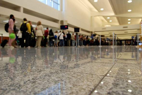 New TSA procedure requires cameras to be placed in a separate bin 1