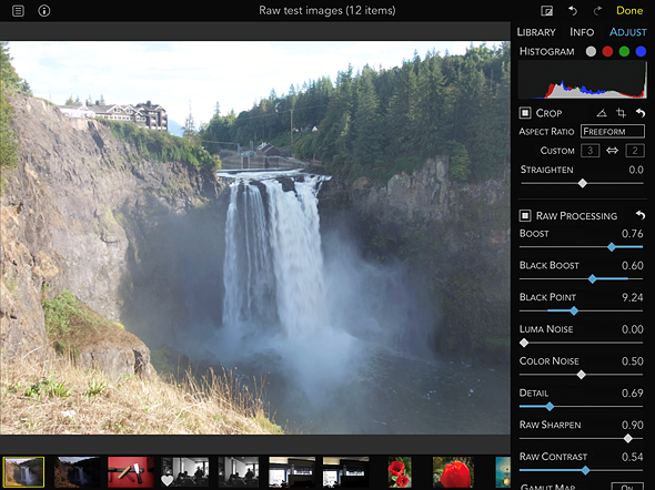 Hands-on: RAW Power for iOS 2