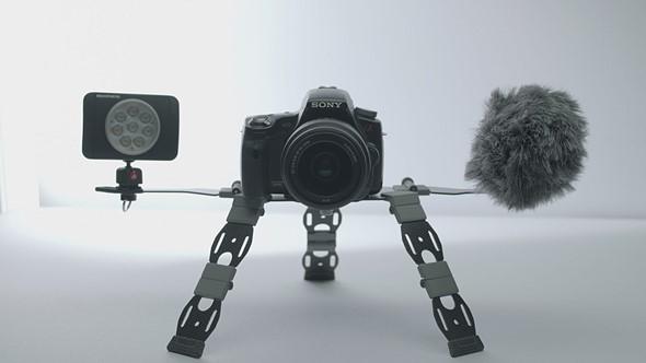 InukTech will launch Inuk, a carbon fiber tripod alternative, on Kickstarter next month: Digital Photography Review