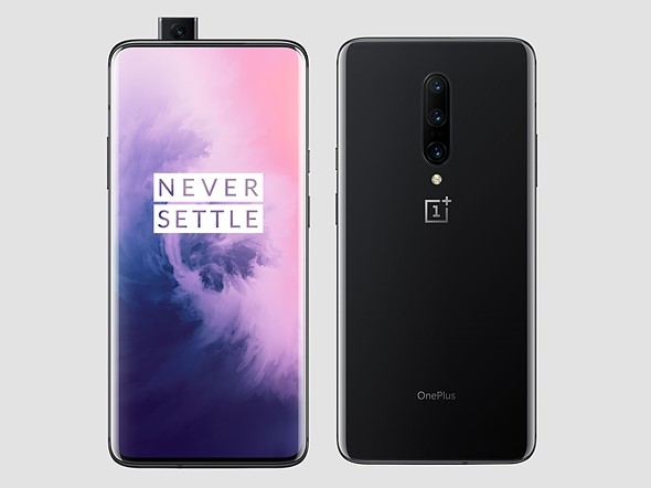 The OnePlus 7 Pro comes with 3x hybrid tele, ultra-wide-angle and pop-up selfie cam