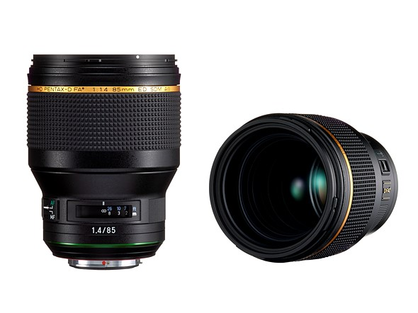 Pentax announces forthcoming 85mm F1.4 lens for its premium FA* full-frame lens lineup