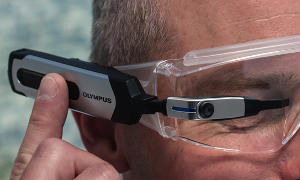 Olympus EyeTrek smart glasses pack a tiny 2.4MP camera into an AR wearable 1