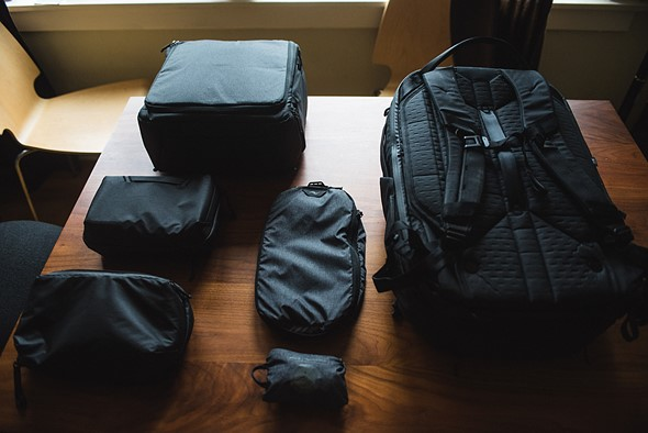 90200292e Review: Peak Design Travel Backpack 45L and 'Packing Tools' are ...