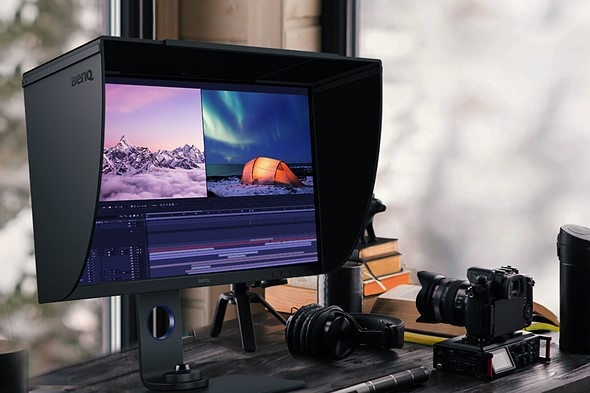 """BenQ's SW270C monitor is a 27"""" 16:9 HDR IPS display with 99% Adobe RGB coverage for $799"""