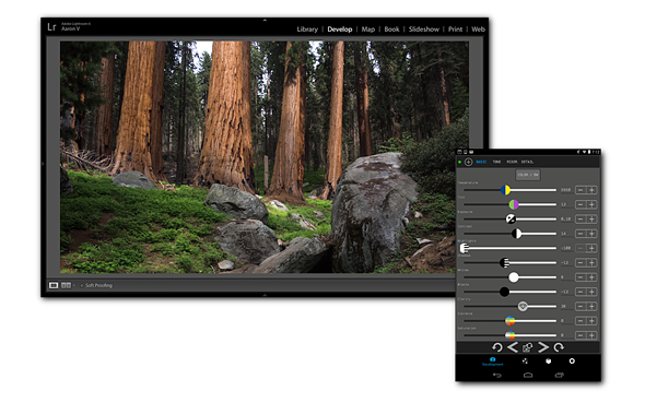 The Control Room app lets you control Lightroom from your smartphone 1