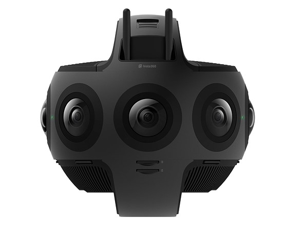 The Insta360 Titan is an 11K 360-degree camera with 8 Four thirds sensors