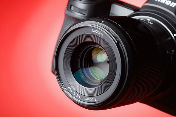 Image of a Nikon lens