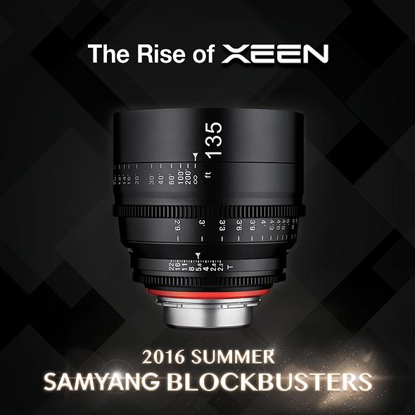 Samyang introduces XEEN 135mm T2.2, first 'summer blockbuster' lens 1
