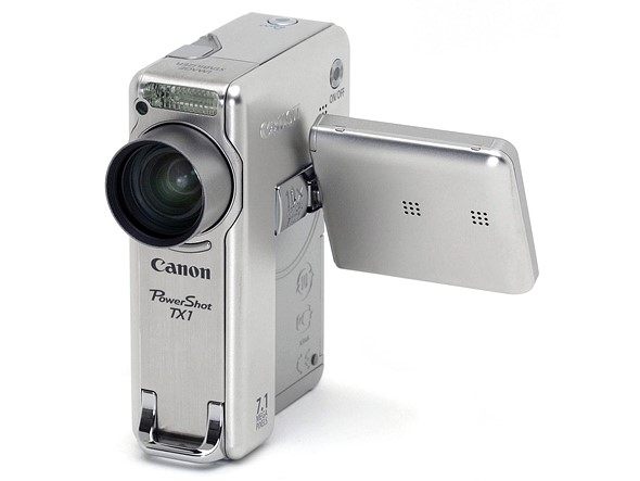 The Vertical ELPH: remembering Canon's PowerShot TX1 hybrid camera