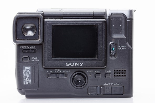 throwback thursday a fresh look at the sony mavica fd 91 digital rh dpreview com Sony FD Mavica Memory Stick Sony FD Mavica MVC Fd92