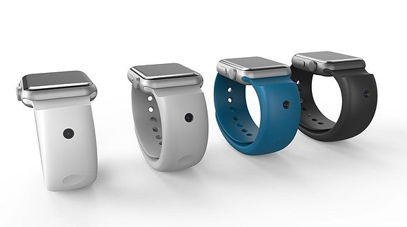 CMRA band for Apple Watch features front and rear cameras 2