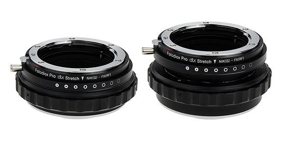 Fotodiox's DLX Stretch adapters feature a built-in extension tube for macro photography 1