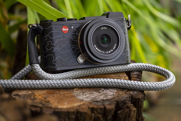 Leica's latest special edition is an 'urban camouflage' Leica CL with a matching strap