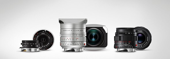 Leica launches limited edition versions of three classic M lenses