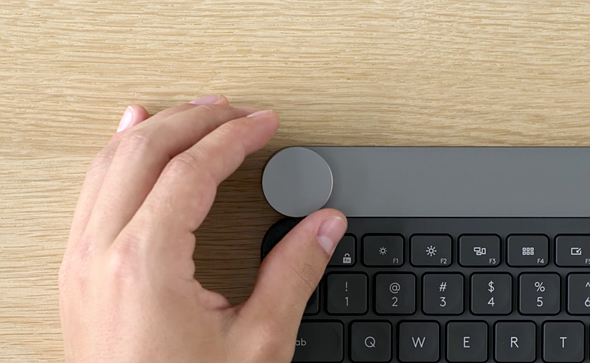 17fbb118572 Computer accessory maker Logitech has introduced a new keyboard designed  specifically for 'creators.' It's called the Craft keyboard, and it  features a dial ...
