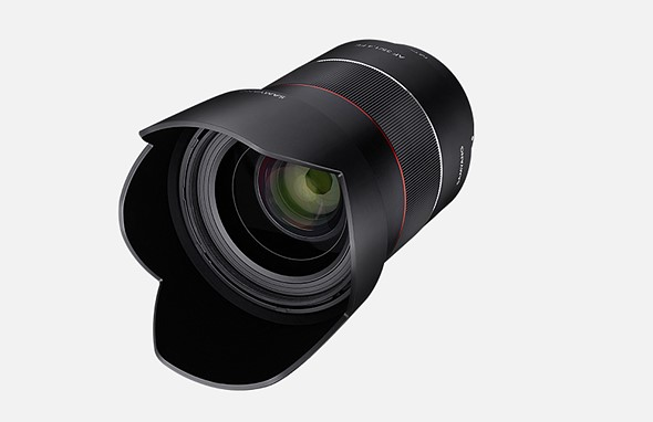 Samyang unveils 35mm F1.4 autofocus lens for Sony full-frame mirrorless