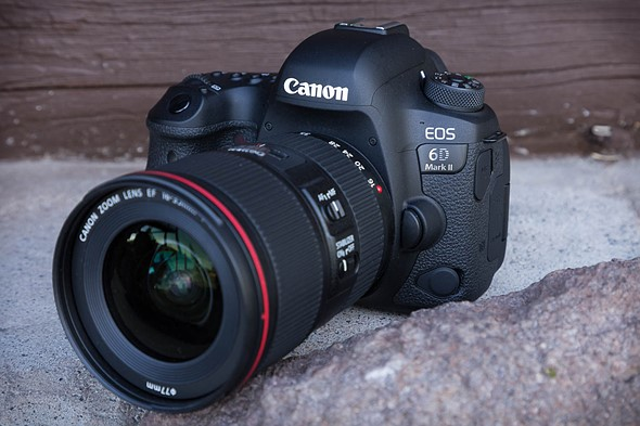 The same but different: Canon EOS 6D Mark II shooting