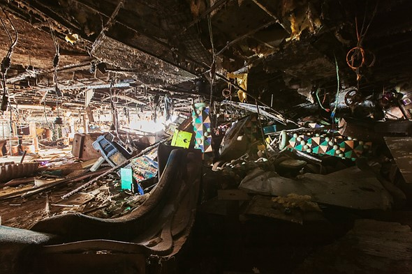 Haunting photos from inside the wrecked cruise ship Costa Concordia 11