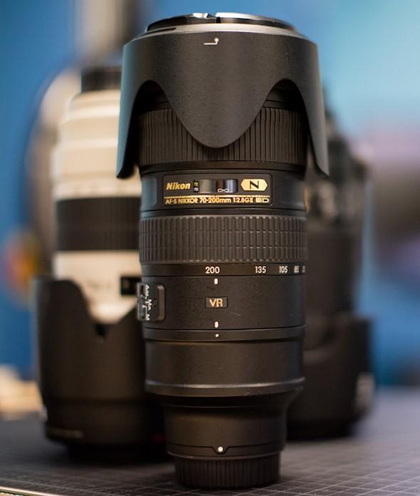 LensRentals tests the Nikon 70-200mm F2.8 FL ED 1