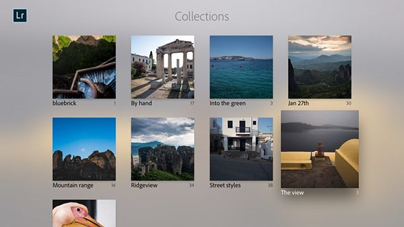 Adobe Lightroom launches for Apple TV 1