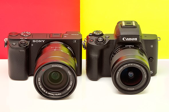 Sony a6400 vs Canon EOS M50