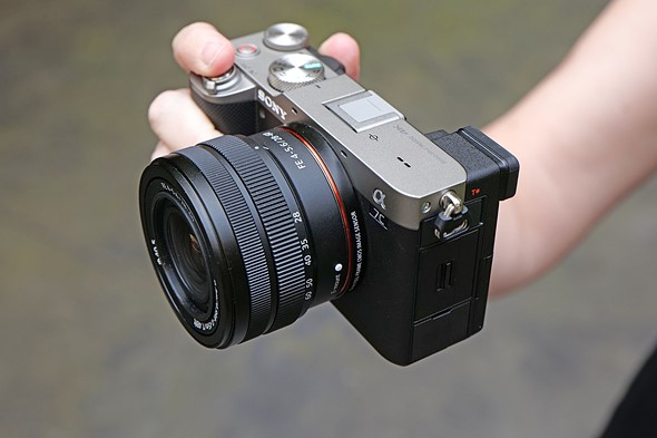 Hands-on with the Sony a7C