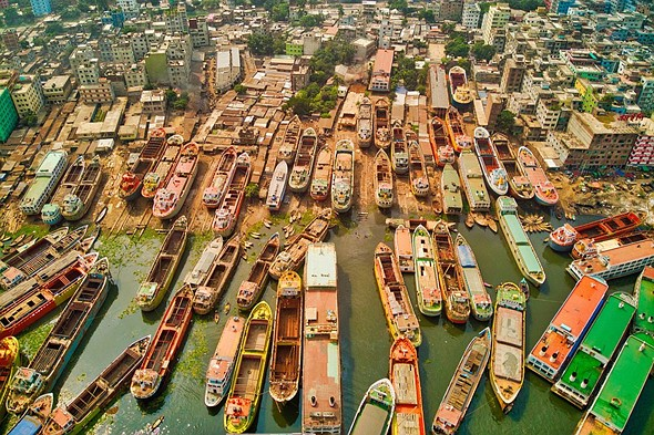 <strong>#Urban2020 Top 50 Finalist: 'Ship city' by @azimronnie (Bangladesh)</strong>