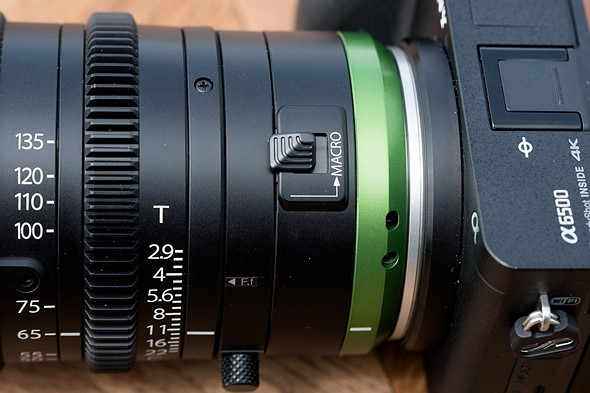Hands-on: Fujinon MK50-135mm T2.9 cine lens