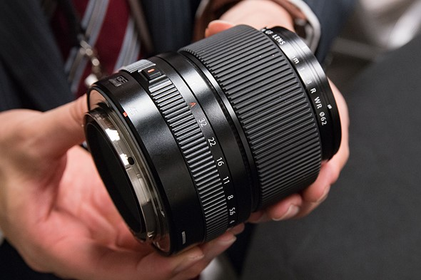 Hands-on with new Fujifilm X and GF lenses