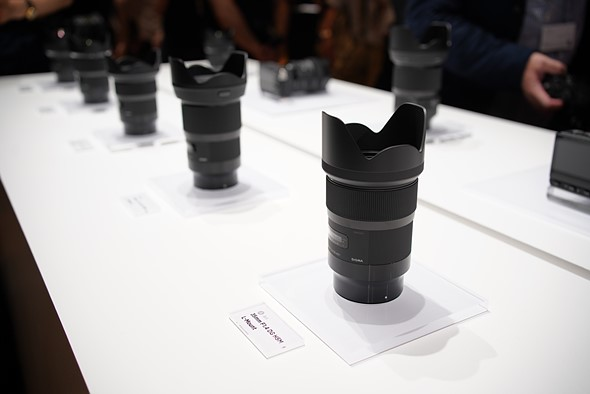 Hands-on with new Sigma 35mm F1.2, 14-24mm and 45mm F2.8 lenses