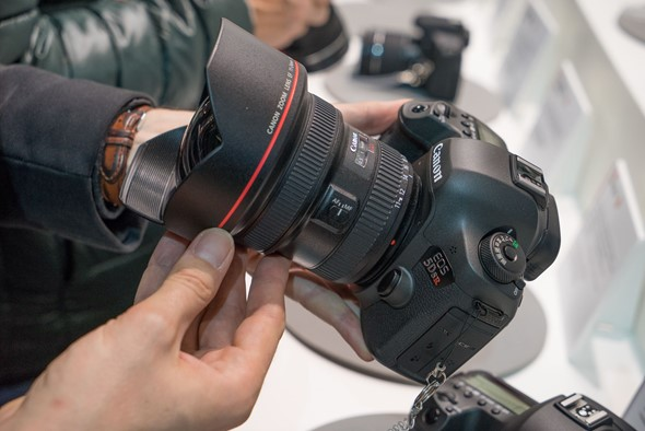 CP+ 2015: Canon shows off new EOS 5DS and 5DS R